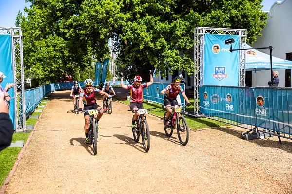 Race village elevates Varsity mountain bike race