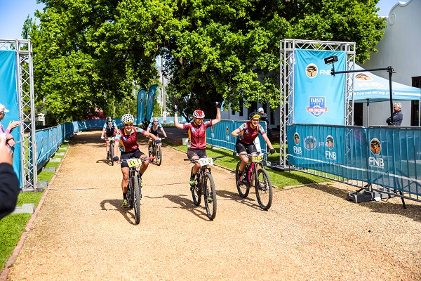 Race village elevates Varsity mountain bike race