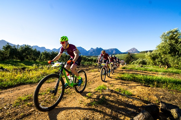 Maties lead after blustery start to Varsity MTB Challenge
