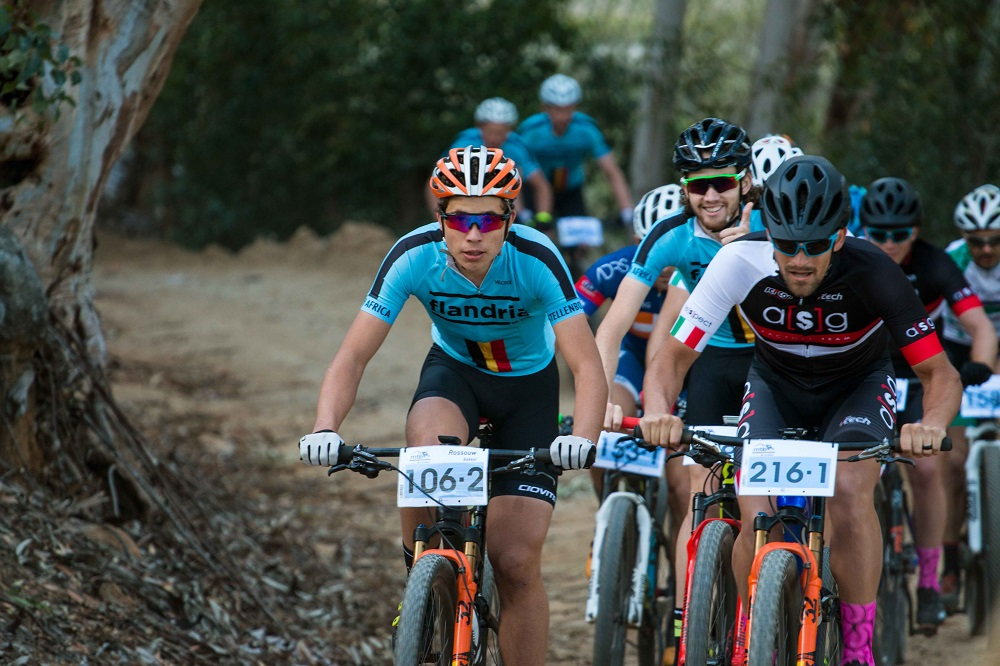 Teens dominate Paarl mountain bike race at first attempt