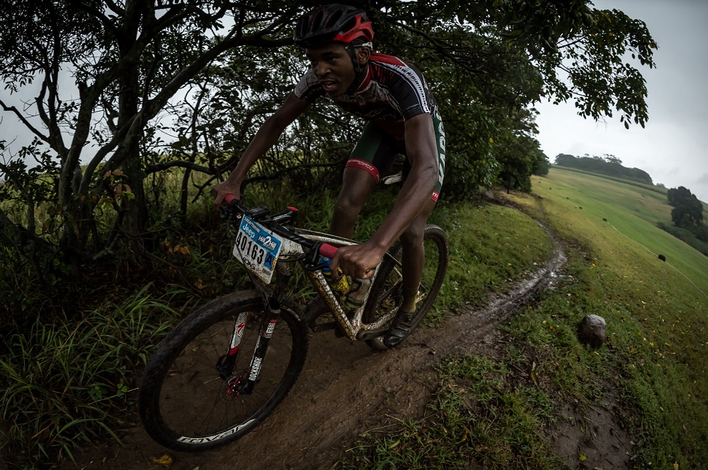 Stiff climb key to victory in wild coast race