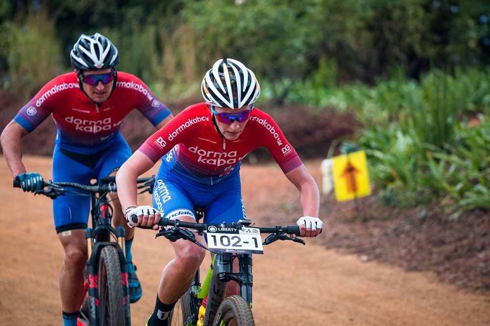 Kruger and Beers sprint to Winelands stage win