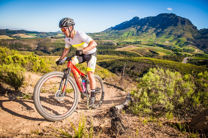 Origin Of Trails' Long Route boasts 18.5km of spectacular single track