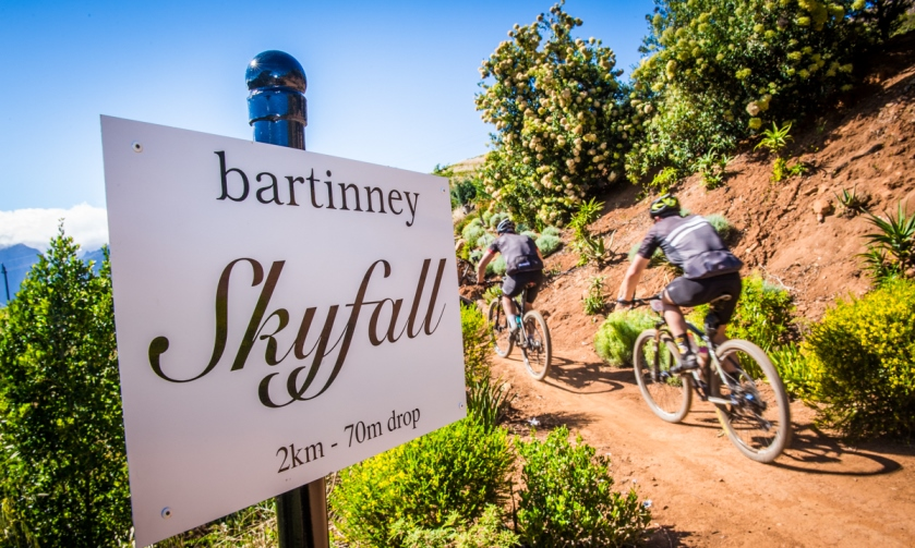 Banhoek Valley on display during Stage Two of the Origin Of Trails Long Route