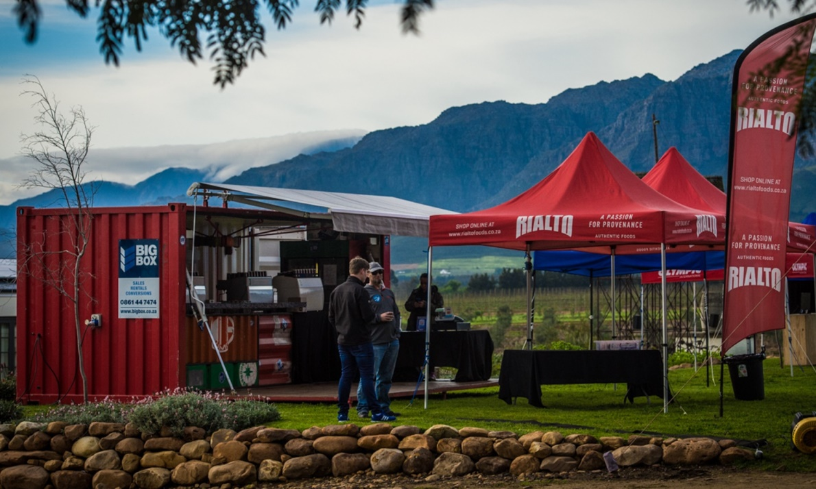 Big Box included as a fixture on the 2018 Origin Of Trails MTB Route