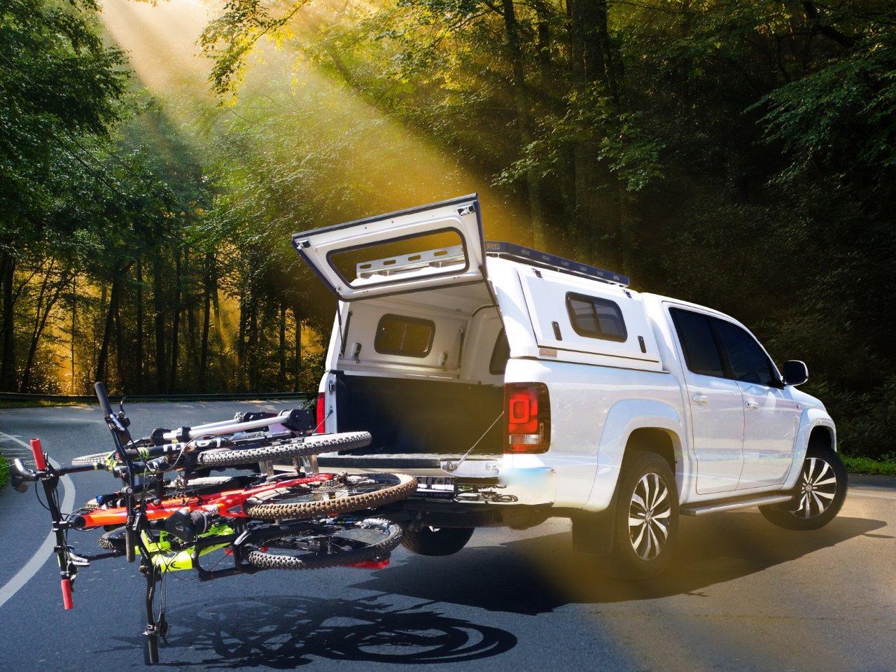Strong consumer demand for Westfalia three-bike rack