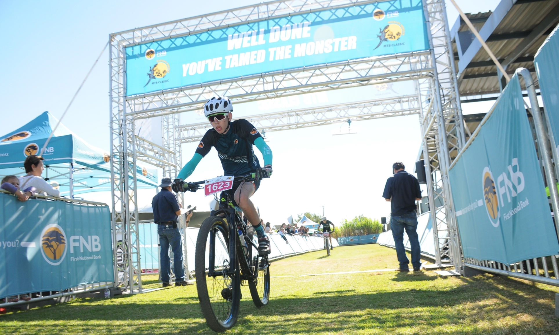 Botha overcomes the odds to pursue his love for mountain biking