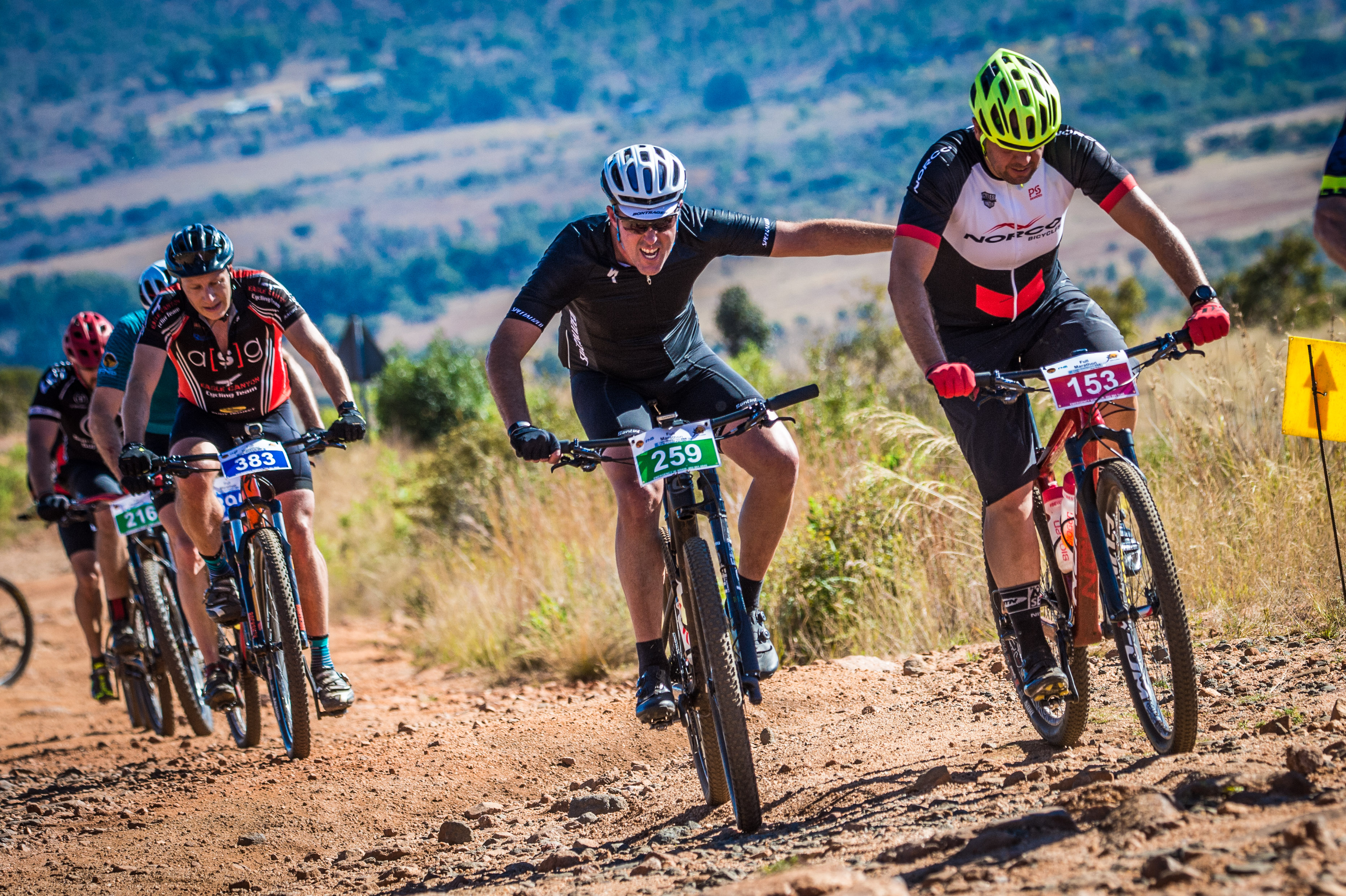 Magaliesberg placed on pedestal at FNB Magalies Monster MTB Classic
