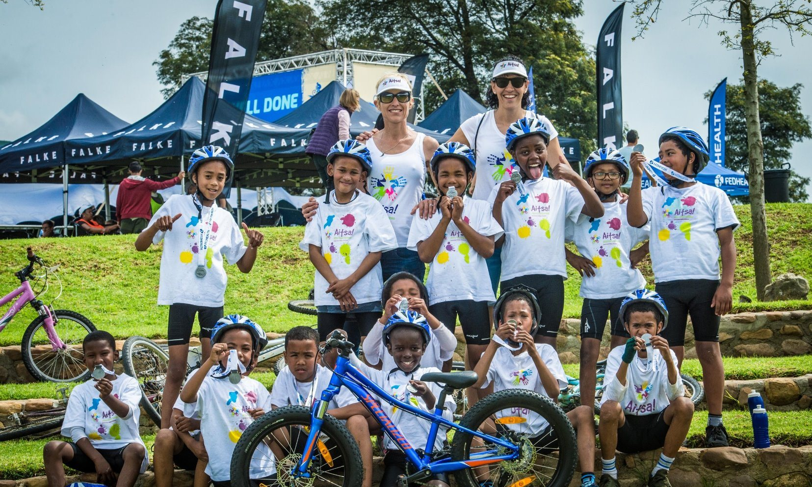 Aitsa! Aftercare Centre mountain bikers excited to take on Fedhealth MTB Challenge