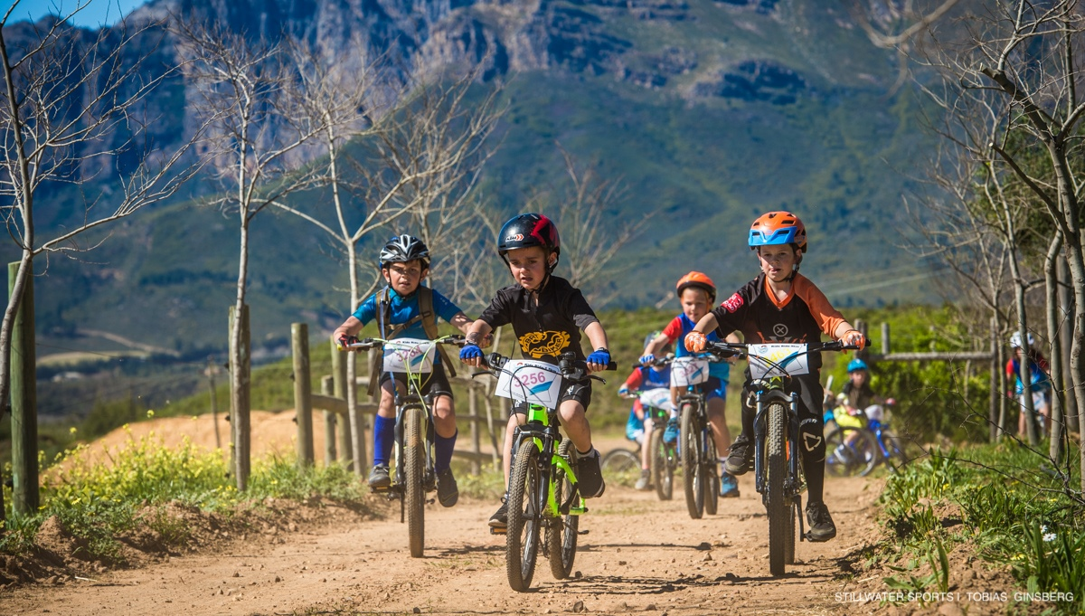 Junior mountain bikers the source of much excitement at Fedhealth MTB Challenge Kids Event