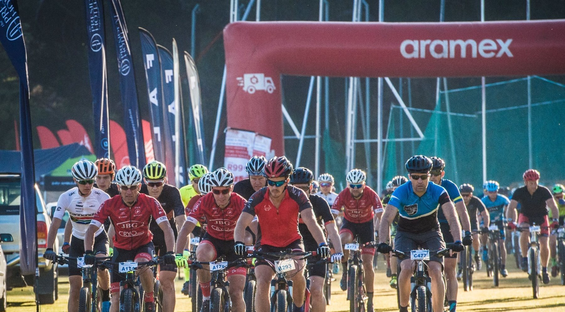 Aramex revving to deliver rider jerseys at Origin Of Trails MTB Experience