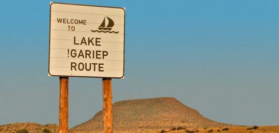 Gariep Dam Forever Resorts MTB Trail