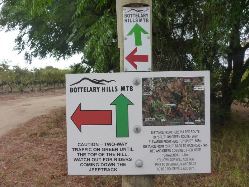 Bottelary Hills Conservancy MTB Route